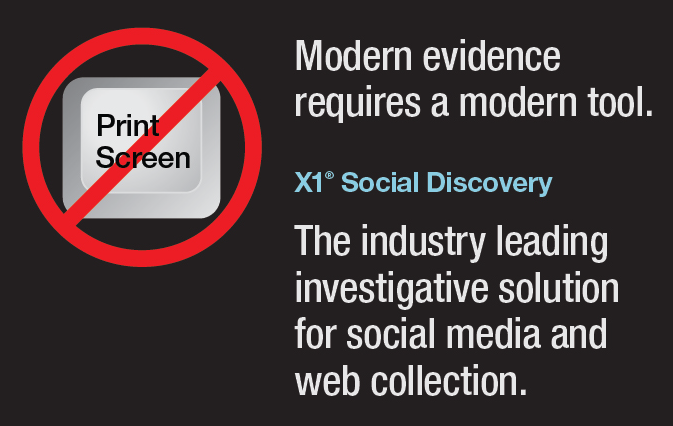 X1 Social Discovery - Social Media and Internet-Based Data